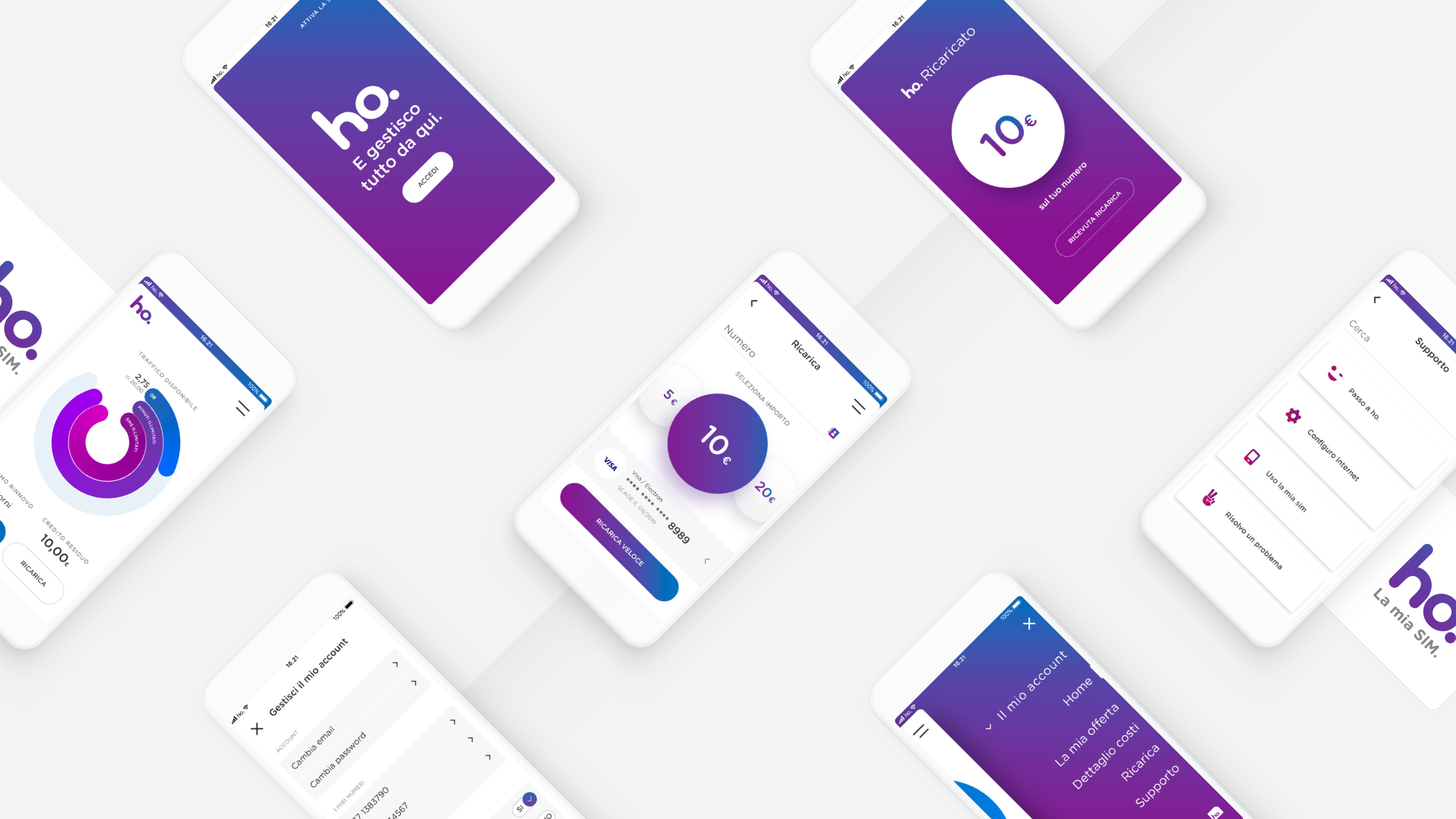 Ho. mobile | Product Design